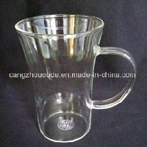 Reasonable Heat-Resistant Borosilicate Glass Cup pictures & photos