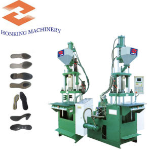 Small Plastic Shoe Sole Injection Moulding Machine pictures & photos