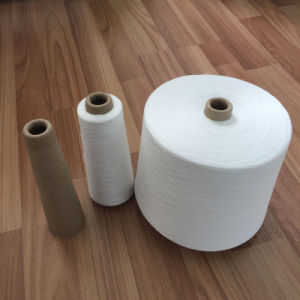100% Virgin Polyester Spun Yarn From Hubei pictures & photos