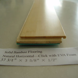 A Grade Solid Bamboo Flooring pictures & photos