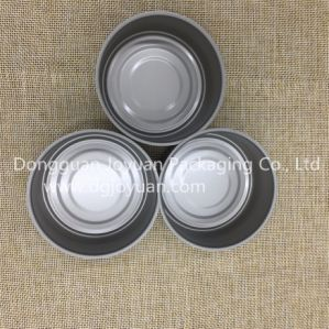 84*34mm Round 2 PCS Can with Easy Open Lid pictures & photos
