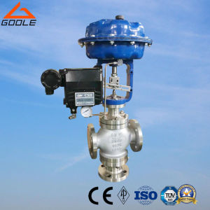 Pneumatic 3-Way Mixing Type Flow Regulating Valve (ZMAQ) pictures & photos