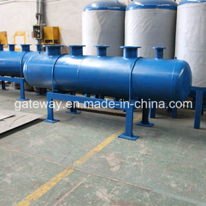 Horizontal Carbon Steel Water Tank with 800L