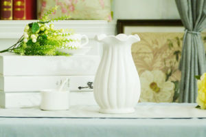 1 Piece Ceramic Flower Holder Lovely Jardiniere Home Decoration Ceramic Vase pictures & photos