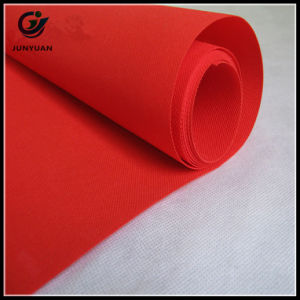 50GSM Burgundy Polypropylene Nonwoven Fabric for Table Cloth pictures & photos
