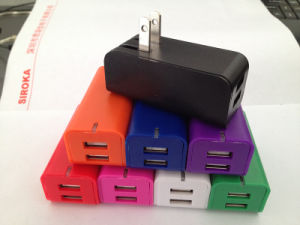 Folding Us Plug Wall Travel Charger 2USB pictures & photos