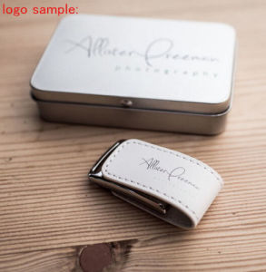 New Design Leather USB Flash Drive Logo Customized Gift pictures & photos
