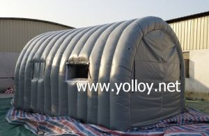 Outdoor Portable Inflatable Car Spray Tent pictures & photos