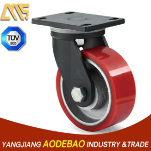 Extra Heavy Duty Swivel PU Caster Wheel pictures & photos