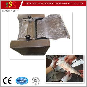 Food Grade SUS304 Fish Skinning Skinner Skin Remove Machine pictures & photos