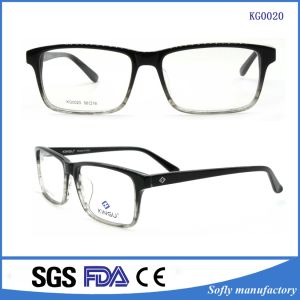 Light Color Glasses Optical Frames Italy with Changeable Temples pictures & photos