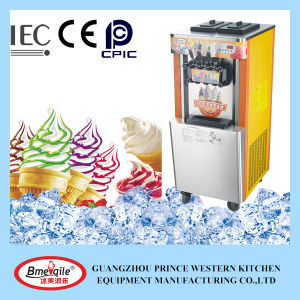 Color Painting Three Flavor Soft Ice Cream Machine Price pictures & photos