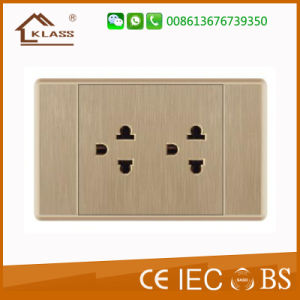 South America Venezuela Electrical Light Wall Switch Socket pictures & photos