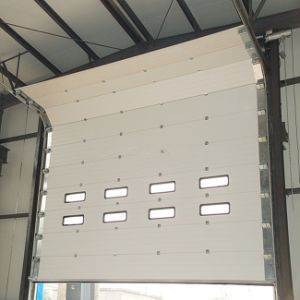 Industril Matel Automatic Sliding Garage Door (HF-J324) pictures & photos