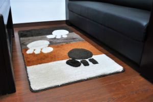 High Quality Eco-Friendy Non-Slip Tufted Bathroom/Floor/Door Rug pictures & photos