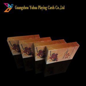 Attractive 100% Plastic Poker with Customer′s Logo Yh21 pictures & photos