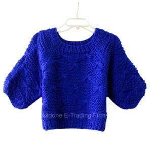 Custom Hand Knit Sweater Cardigan Pullover Apparel Knitwear pictures & photos