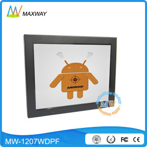 Bluetooth 3G 4G WiFi12 Inch LCD Digital Picture Frame HD Photo Video pictures & photos