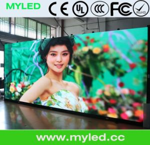 USA P1.66 Indoor HD LED Display Screen Sign pictures & photos