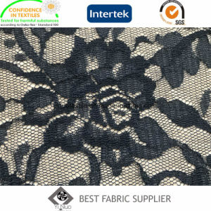 100% Nylon Knitting Lace Fabric Lady′s Dress Skirt Fabric Leather Jacket Lining Fabric pictures & photos