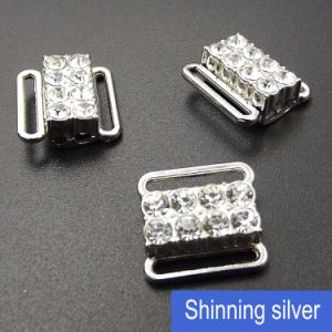 Underwear Rhinestone Clip in 12mm Metal Silver pictures & photos