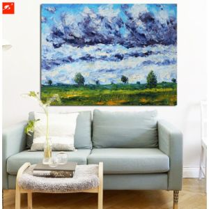 Impressionism Monet Countryside Landscape Scenery View Oil Painting pictures & photos