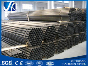 Hot Selling Welded Mild Steel Black Round Pipe pictures & photos