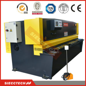 CNC Hydraulic Metal Sheets Automatic Guillotine Shearing Machine, Used Metallic Processing Machine pictures & photos