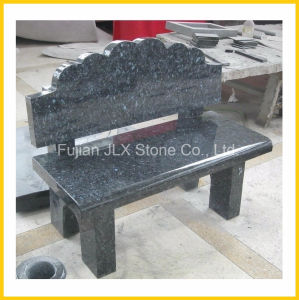 All Polished Blue Pearl Granite Outdoor Stone Bench pictures & photos