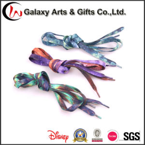 Custom Printed Wholesale Sublimation Flat Shoelaces pictures & photos
