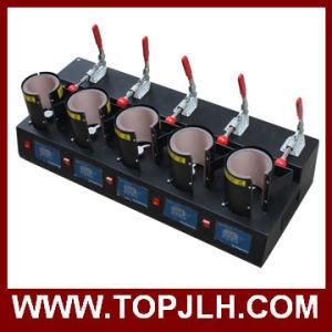 Heat Transfer Printing Mug Sublimation 5 in 1 Mug Heat Press Machine pictures & photos