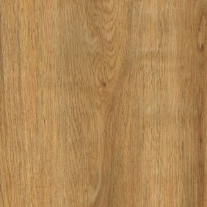 Self-Adhesive Brown Wood Look Click Lock Vinyl Plank Flooring pictures & photos