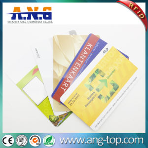 ISO14443 Cr80 Plastic RFID PVC Smart Card with Magnetic Strip pictures & photos