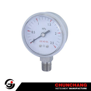High Purity Pressure Gauge pictures & photos