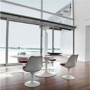 Modern Classical Tulip Chair and Revolving Dining Chair pictures & photos