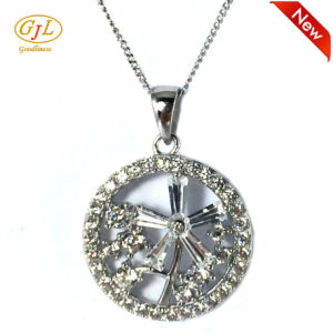 Factory Price Jewelry CZ Stone Silver Pendant for Woman (P5083) pictures & photos
