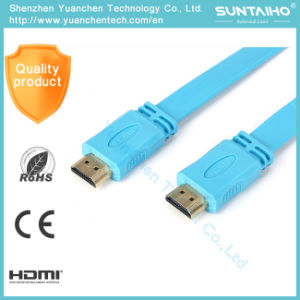 Gold Plated Plug HDMI Cable for 1080P with 1.4/2.0V pictures & photos