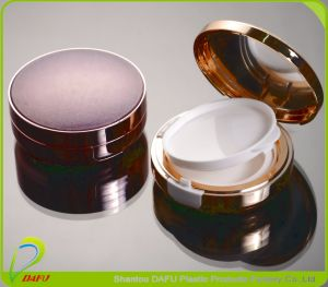 Round Recyclable Cosmetics Packaging Compact Powder Case pictures & photos