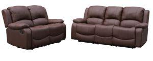 Bonded Leather Recliner Sofa Set 3rr+2rr pictures & photos
