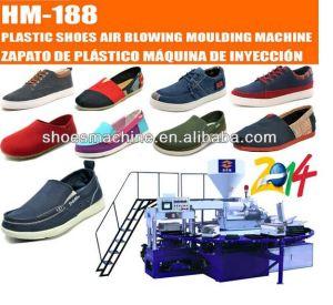 PVC Canvas Shoe Sole Producing Injection Moulding Machine pictures & photos