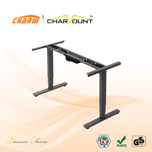 High Quality Stand up Desk Adjustable Height Wholesale, CT-Mcd-2na Office Furniture Standing Desk (CT-MCD-2NA) pictures & photos