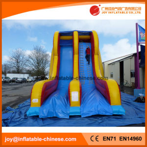 2017 New Design Invasion Double Lane Slide Inflatable Slide (T4-252) pictures & photos
