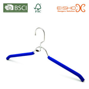 Eisho Metal Rubber Foam Hanger for Clothes (TP803) pictures & photos