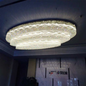 New Design Residential LED Crystal Ceiling Lamp for Lobby pictures & photos