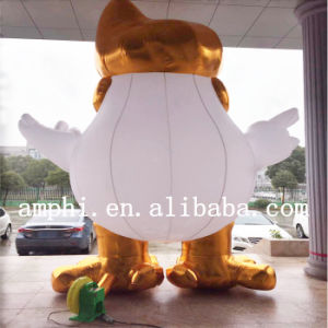 2017 Most Popular New Year Inflatable Mascot Chicken/Adorable Chicken Mascot