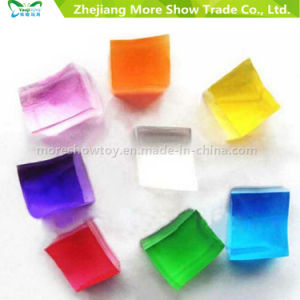 New Design Square Crystal Soil Flowers Colourful Water Beads pictures & photos