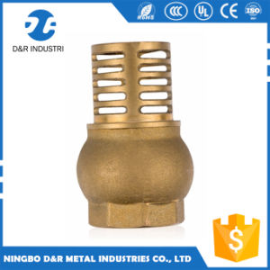 Manufacturer Standard Fitting Brass Foot Valve with High Quality pictures & photos