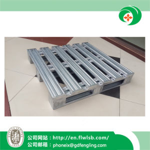 Customized Galvanized Metal Pallet for Warehouse Storage by Forkfit pictures & photos