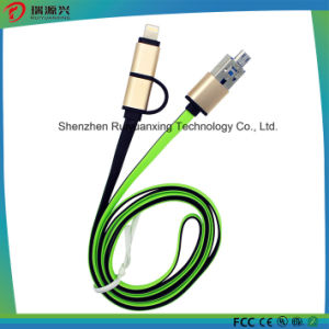 OTG USB Phone to Phone Charging Data Cable pictures & photos