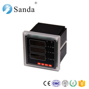 Digital Three Phase Multifunction LED Display Electric Meter RS485 pictures & photos